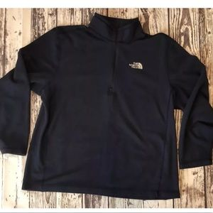 The North Face XL 1/4 Zip Navy Blue Sweatshirt